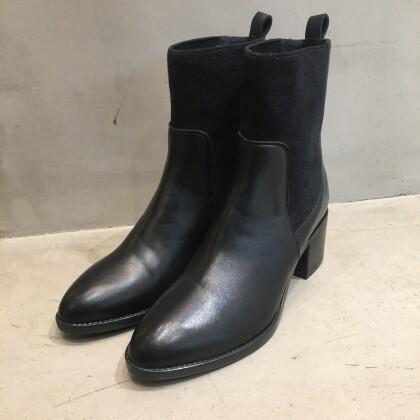 【STEFANO GAMBA】一味違う!異素材ブーツ