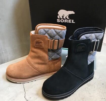 【SOREL】アウトドアからタウン使いまで!真冬の防寒ブーツ
