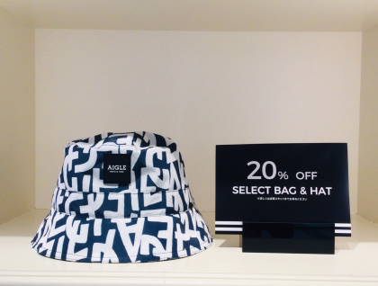 SELECT BAG&HAT 20%OFF