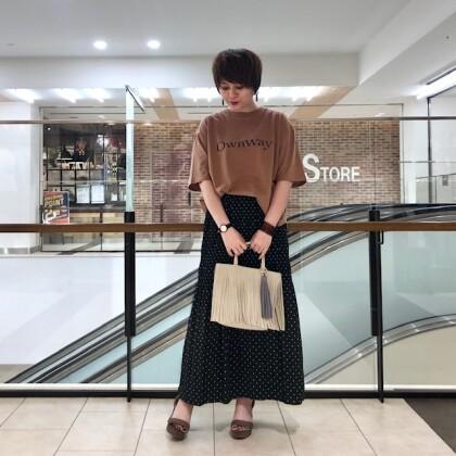 マジョリカ【ドット】プリーツスカート