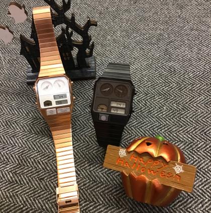 80年代を感じさせる腕時計?!<MIMのデジアナテンプ>