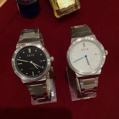憧れ!ドイツブランドの腕時計!DUFA