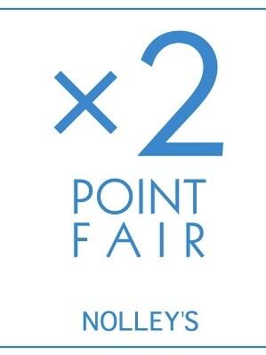 ×2 POINT FAIR開催中!