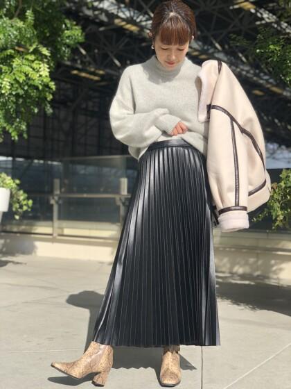 ♡エコレザースカート♡