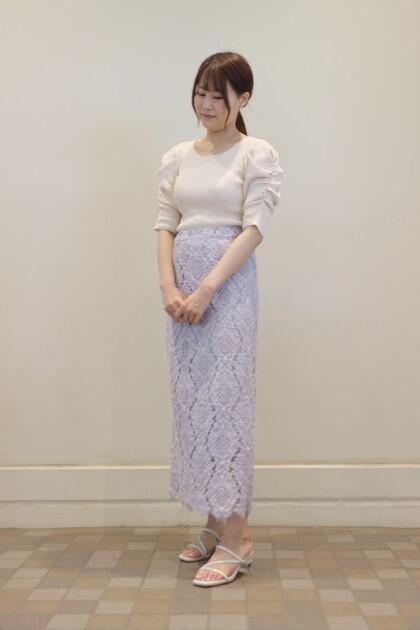 ♡スペシャルプライス♡甘さ控えめ総レーススカート♡