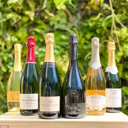 飲みたい時に泡が飲める幸せ♪送料無料のシャンパン入り泡セット!