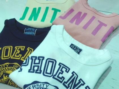 【裏毛ロングTシャツ】¥1900