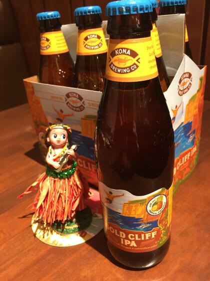今頃来ました!夏のKONAビール ゴールドクリフ