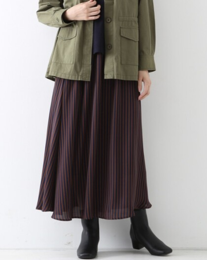 ☆新作ストライプスカート☆