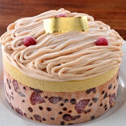 ひんやりアイスクリームケーキ!