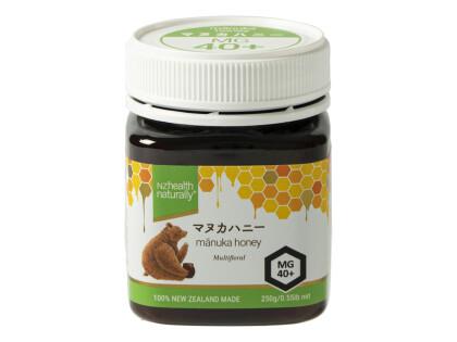 マヌカハニーMG40+発売中!