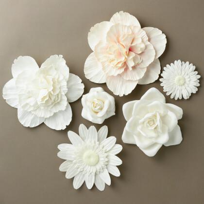 壁に花を咲かせます!🌼
