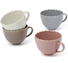 【NEW】フリル型のスープカップ♡