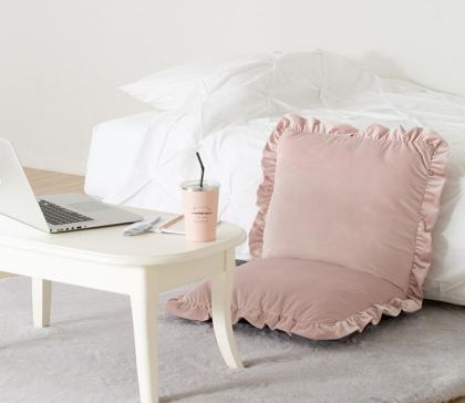 【NEW】フリルデザインの座椅子🎀