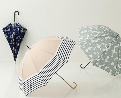 雨の日を楽しみに!デザイン豊富な長傘✨