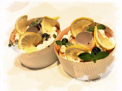 初めての方限定!はちみつレモンの生シフォンケーキ