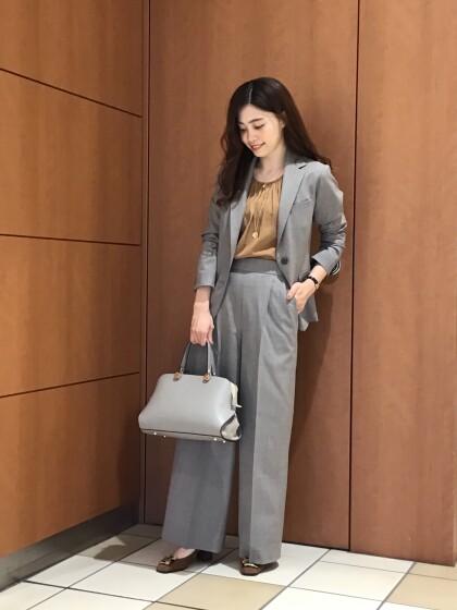 【Ladies】サスティナブル素材☆セットアップスーツ