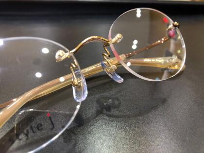 縁なし「日本製オリジナルメガネ」ご紹介Part6