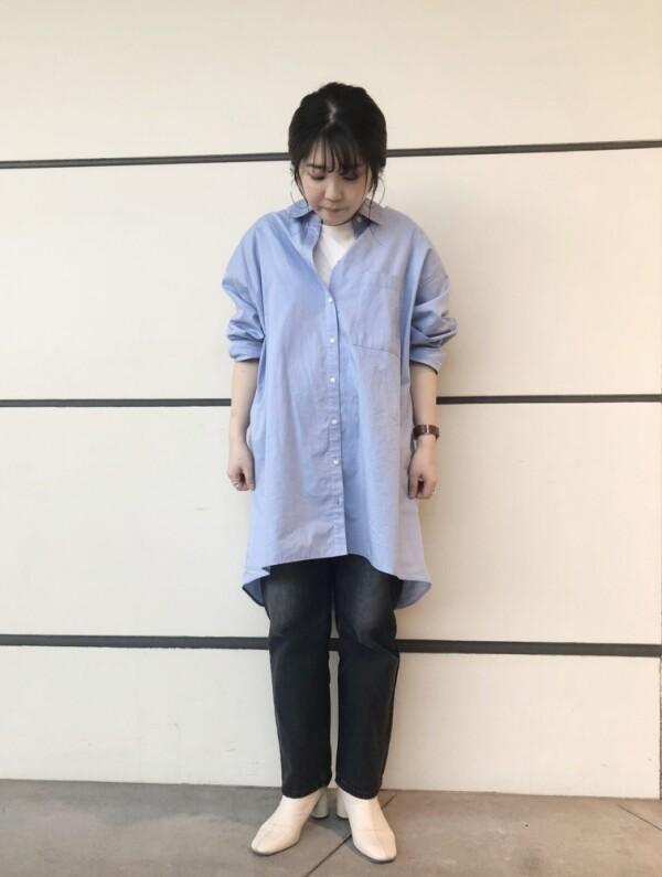 ★★女性らしいオーバーシャツ★★