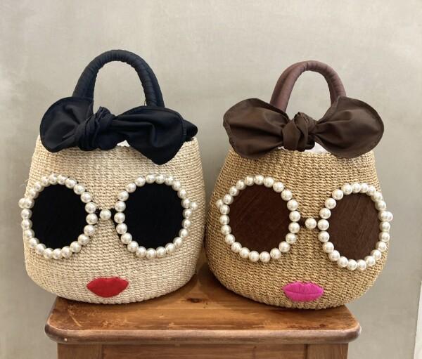 【a-jolie】毎年大人気のかごバッグからパールサングラスちゃんか登場!