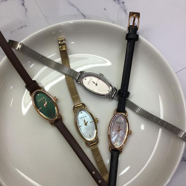 『SPICA(スピカ)』 女性らしい手元になれる腕時計!