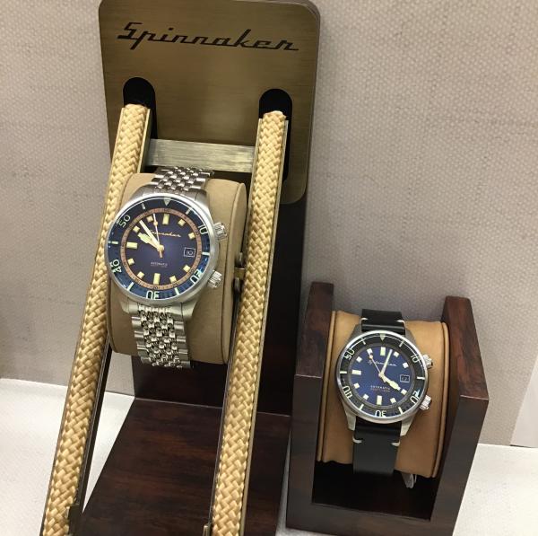今おすすめ:レトロ感漂うおしゃれ機械式腕時計 SPINNAKER