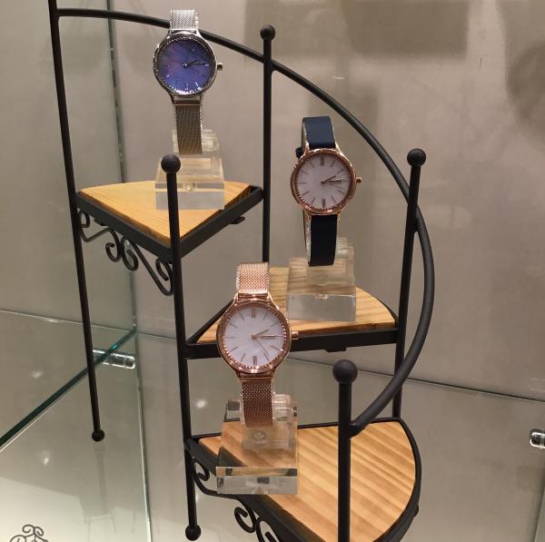 SKAGENに上品な女性らしい腕時計が仲間入り!!