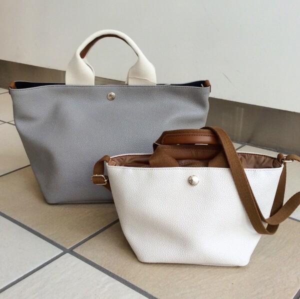 すっきり♪シンプルなバッグ