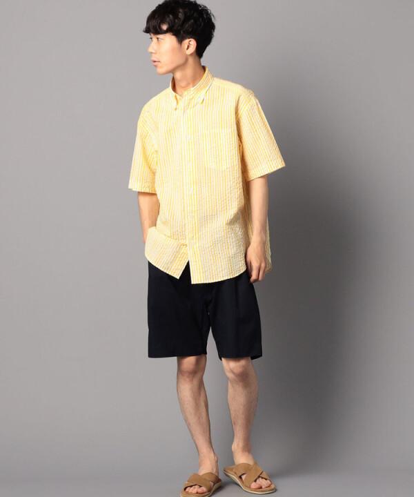 ビッグシルエットボタンダウンシャツ