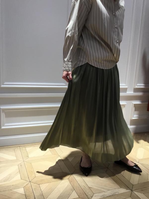 秋色スカート入荷◎