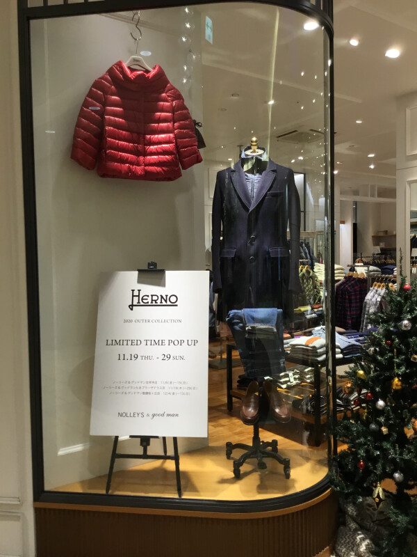 HERNO  LIMITED TIME  POP UP
