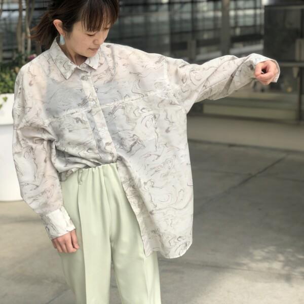 ♡春シアーシャツ♡4♡