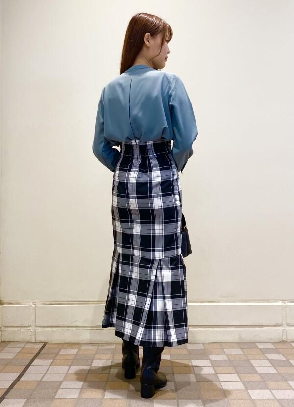 ♡チェックマーメイドスカート♡