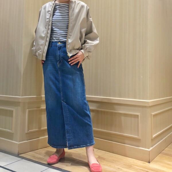 ♡Leeデニムタイトスカート♡