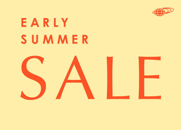 EARLY SUMMER SALE 2