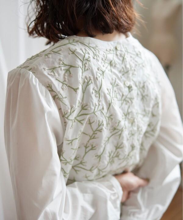 かすみ草刺繍シリーズ🌷
