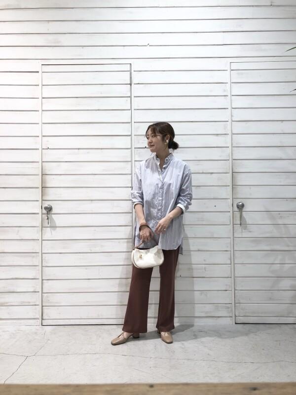 Stripeロングシャツ