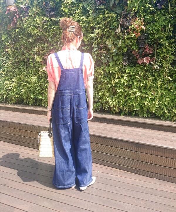 Linen frill blouse