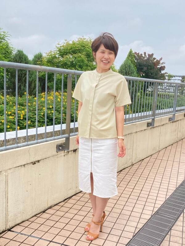 鎌倉シャツのニットシャツ