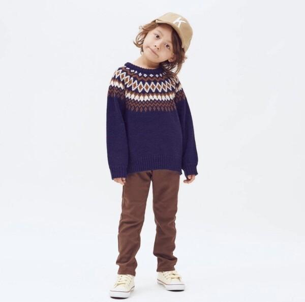 【求心柄セーター】
