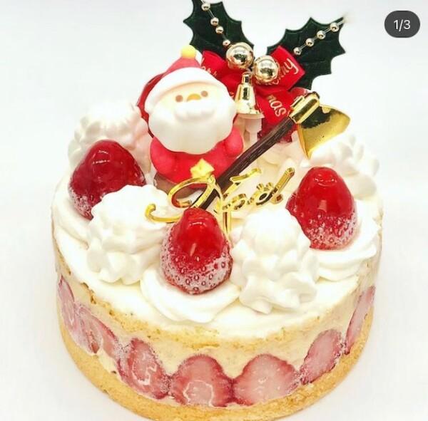 アイスクリームでお祝いクリスマス!