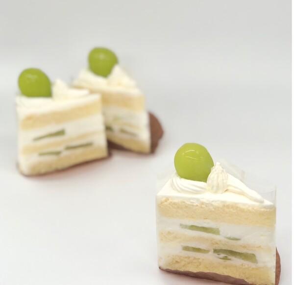 これぞ王様!シャインマスカットのショートケーキ