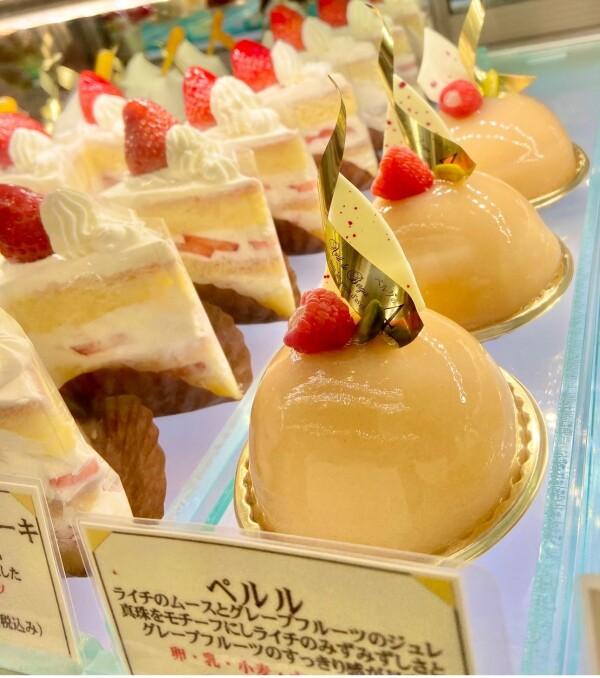 本日よりケーキの新作ペルル☆