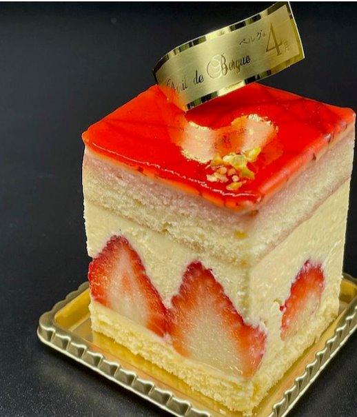 苺とカスタード、そしてバターのハーモニー