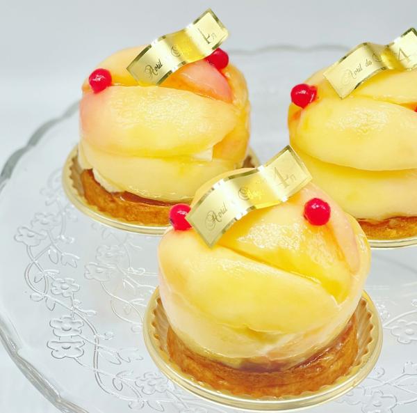 桃のタルトレット