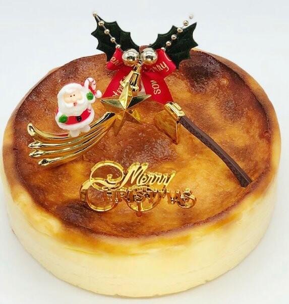 クリスマスケーキの配送!ベイクドチーズケーキ