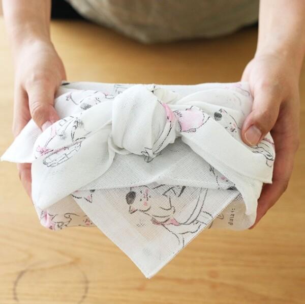【新発売】猫村さんの花ふきん