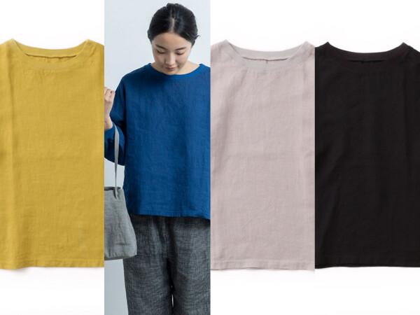 【新商品】麻布Tシャツ長袖!
