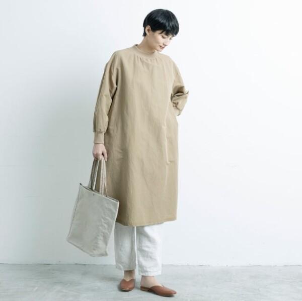 【新登場】リネン帆布のトートバッグ