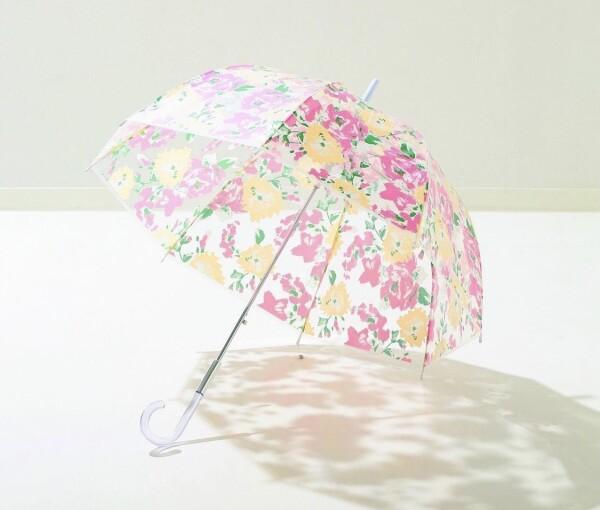 【レイン特集☔】花柄がキュートなビニール傘🌼